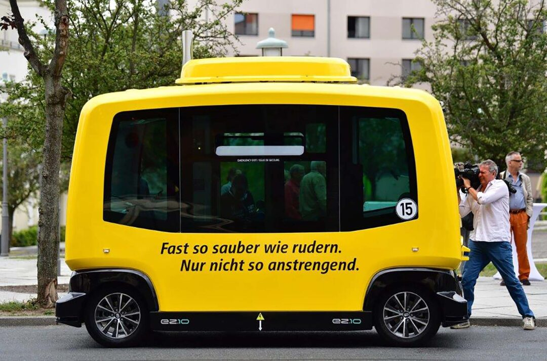 Autonomous vehicles for public transportation on the streets of Berlin