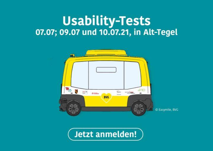 Werbebanner für Usability-Tests ZTG-2