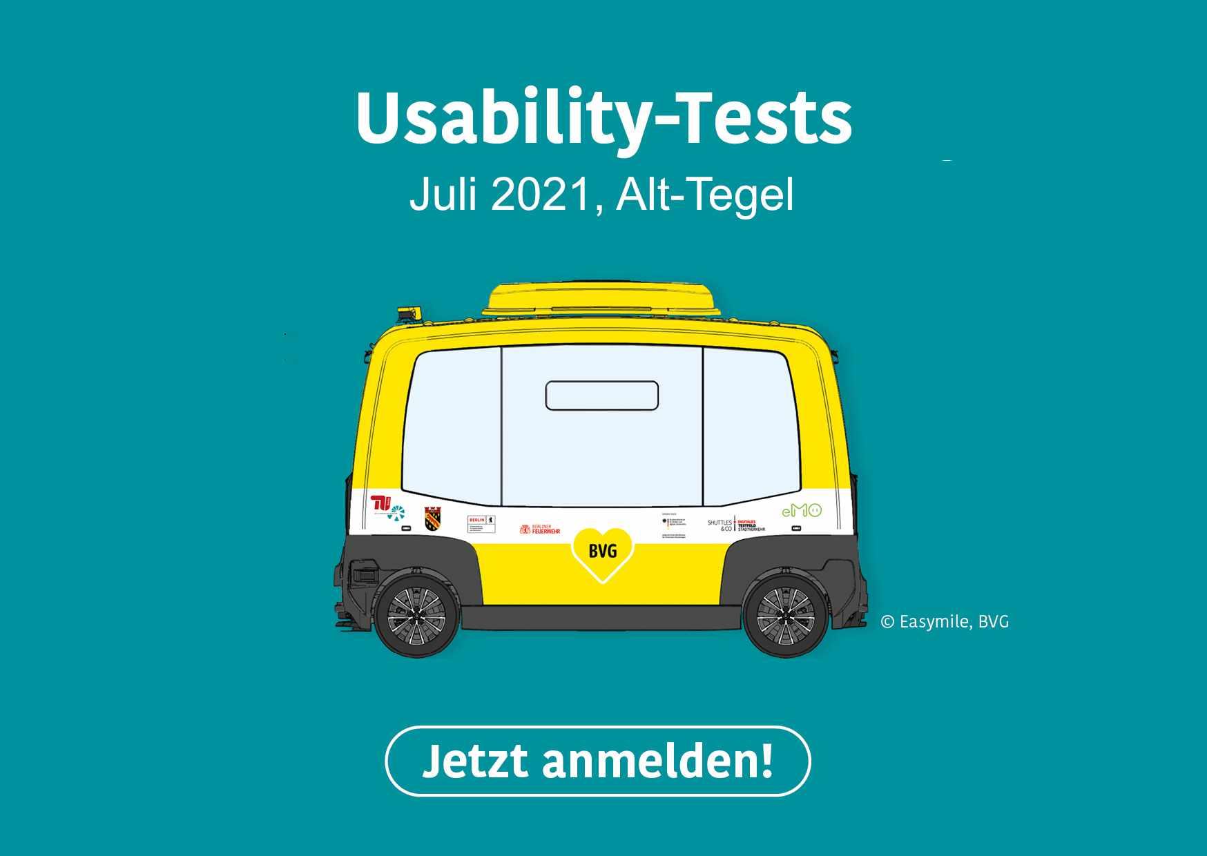 Werbebanner für Usability-Tests ZTG-3